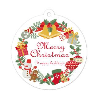 型抜き印刷_タグ_クリスマスプレゼント