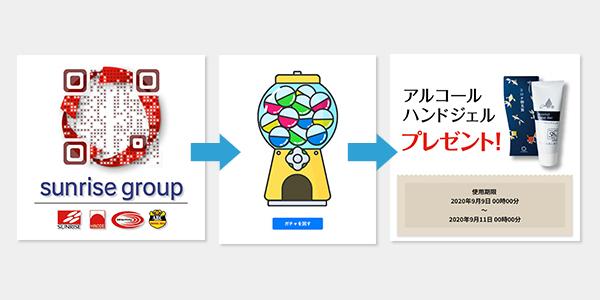 デザインQR+HP+チラシ+アクセス解析