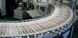 高速輪転印刷機