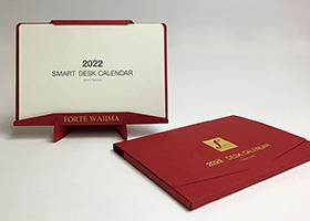 B6 スタンド型高級卓上カレンダー_フォルテワジマ様制作事例