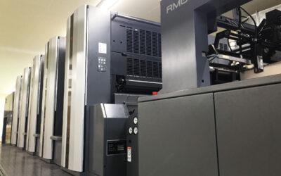 菊全判5色印刷機を導入しました